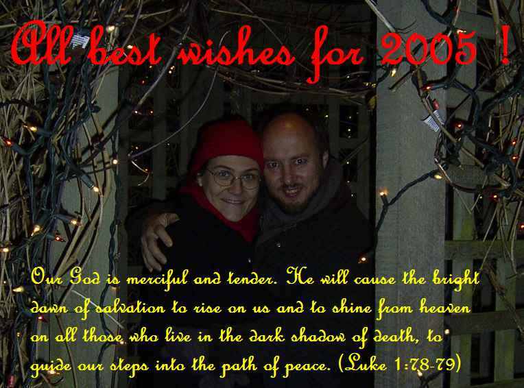 All best wishes for 2005